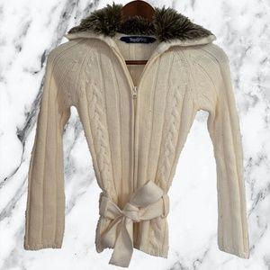 4 for $15 Miss Dazzle White Sweatshirt